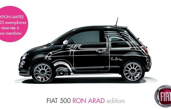 Une �dition sp�ciale de Fiat 500 en vente exclusive sur internet