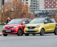 Essai comparatif : Smart Forfour II vs Renault Twingo III